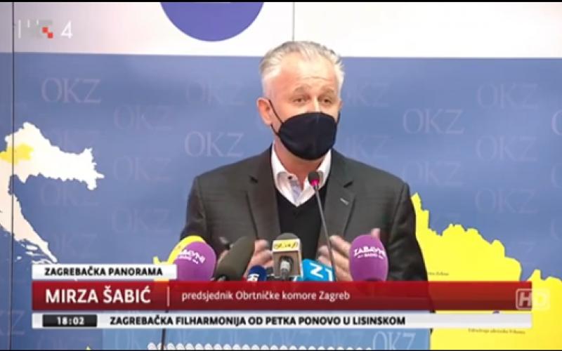 Pogledajte reportažu  Zagrebačke panorame o apelu obrtnika i ugostitelja